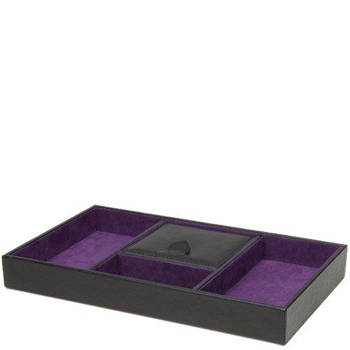 Планшет для украшений Wolf 1834 черно-фиолетовый