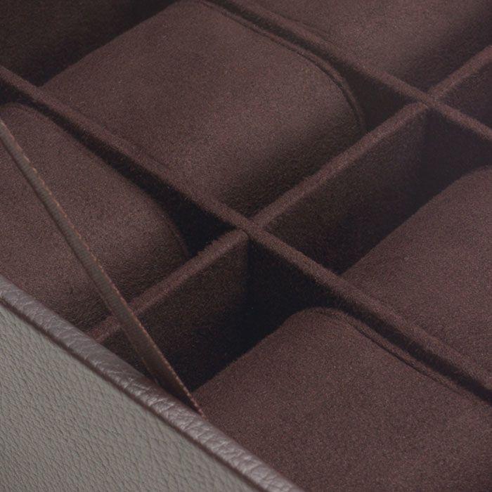 Шкатулка для 6 часов Wolf 1834 коричневая