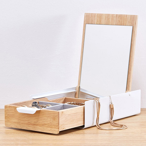 Шкатулка для украшений Umbra Reflexion с зеркалом, фото