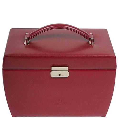 Кейс WindRose Merino для украшений красного цвета, фото