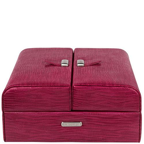 Кейс  для украшений WindRose Lezard красного цвета, фото