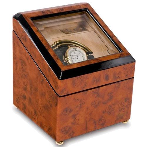 Шкатулка Rapport с отделкой под мрамор для подзавода часов, фото