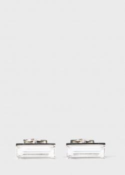 Запонки Lalique Rayonnante с хрустальными вставками, фото