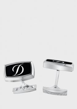 Запонки S.T.Dupont с логотипом, фото