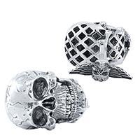 Коллекционные запонки Montegrappa Chaos из серебра, фото
