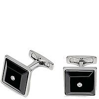 Запонки Baraka Style с двумя бриллиантами, фото
