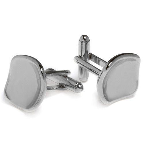 Универсальные запонки Predan из белого металла, фото