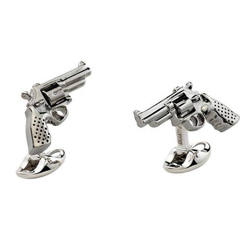 Запонки Deakin&Francis Silver Револьвера, фото