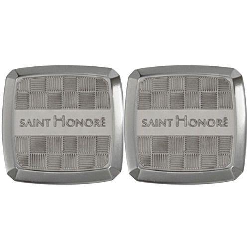 Запонки Saint Honore Cufflink C41 74 титановые, фото