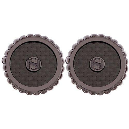 Запонки Saint Honore Cufflink C53 72C черные, фото
