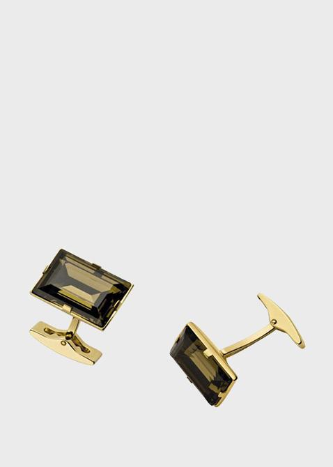 Запонки S.T.Dupont с камнями Swarovski , фото