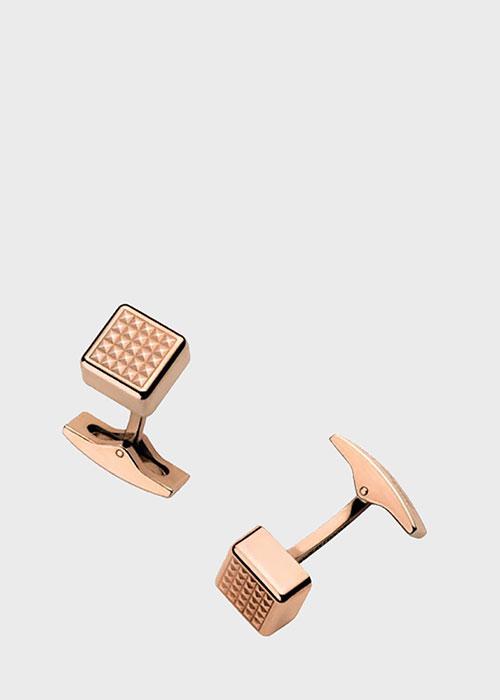 Запонки S.T.Dupont Cote dAzur в розовом золоте, фото