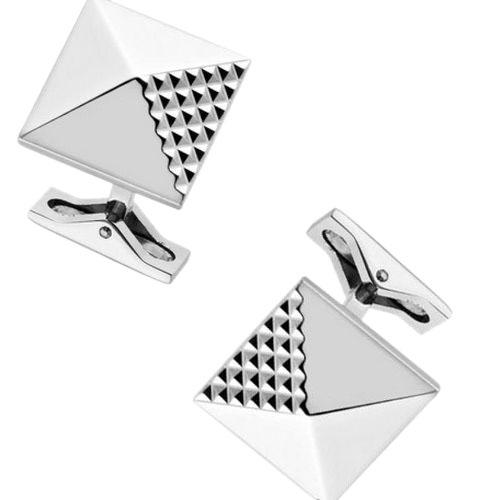 Запонки S.T.Dupont Pyramide с палладием, фото