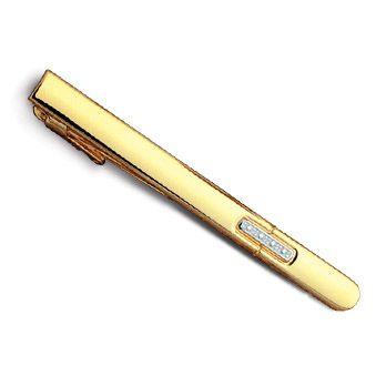 Зажим для галстука Orion в золоте, фото