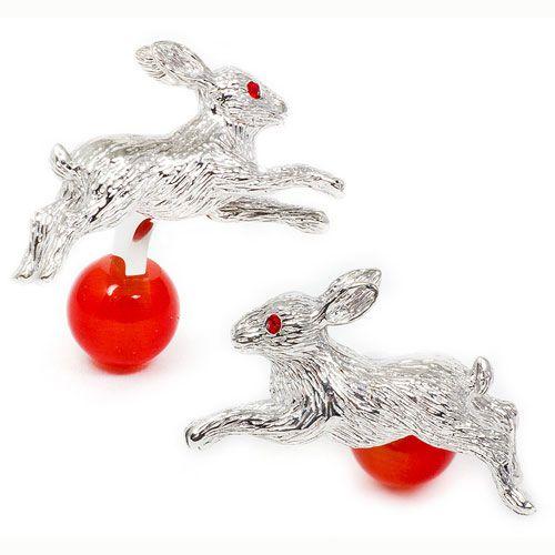 Запонки Tateossian ANIMAL кролик, фото