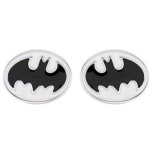 Запонки Jewels овальные с эмблемой бэтмен, фото