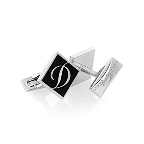 Запонки S.T.Dupont Lacquer Collection Cufflinks Palladium, фото