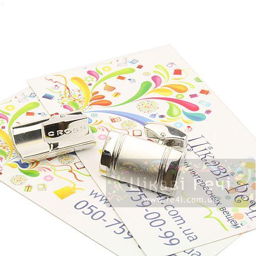 Запонки Apogee с атласным родием, фото