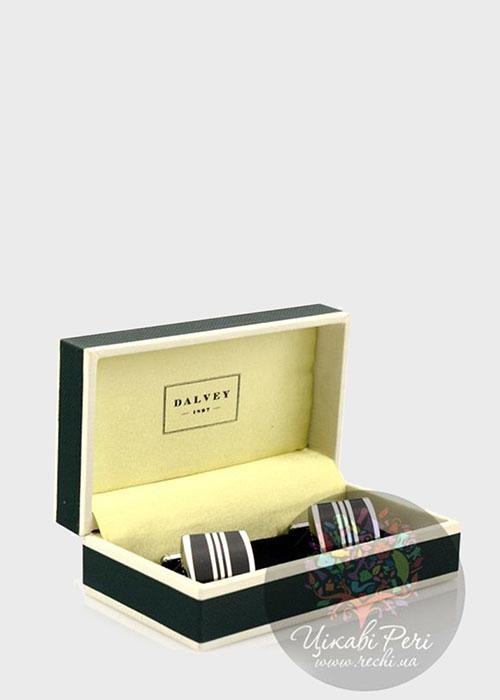 Запонки Dalvey Admiralty с черным ониксом, фото