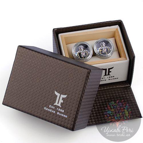 Запонки TF Est. 1968 Tourbillon с бриллиантами, фото