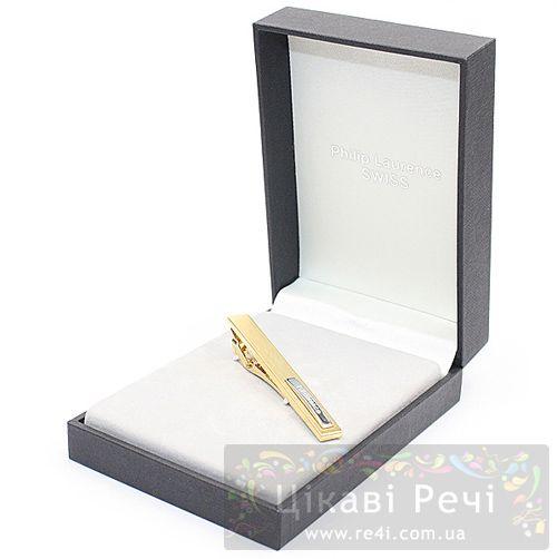 Зажим для галстука Philip Laurence Fiesta из ювелирной латуни, фото
