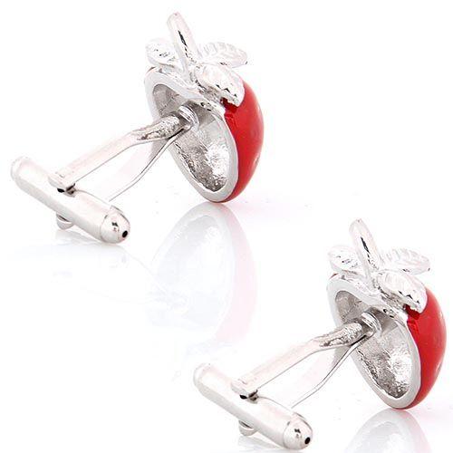 Запонки Jewels в виде клубники, фото