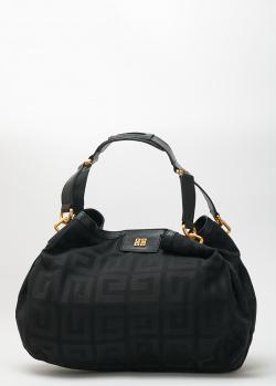 Черная сумка Givenchy с брендовым принтом, фото