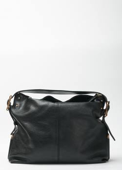 Черная сумка Givenchy с золотистой фурнитурой, фото