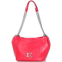 Красная сумка Ermanno Ermanno Scervino Elisa с ручками-цепями, фото