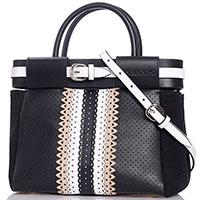 Маленькая сумка Ermanno Ermanno Scervino Elvia с декором-ремешком, фото