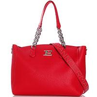 Красная сумка Ermanno Ermanno Scervino Eba со съемным широким ремнем, фото