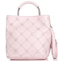 Розовая сумка Ermanno Ermanno Scervino Elvira на два отделения, фото