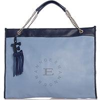 Сумка-шоппер Ermanno Ermanno Scervino Esmeralda с перфорированным логотипом, фото