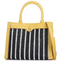 Маленькая сумка Ermanno Ermanno Scervino Eliana с декором-плетением, фото