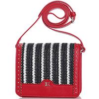 Маленькая сумка Ermanno Ermanno Scervino Eliana с плетеной вставкой, фото