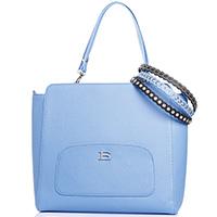 Синяя сумка Ermanno Ermanno Scervino Emanuela с дополнительными ремешками, фото
