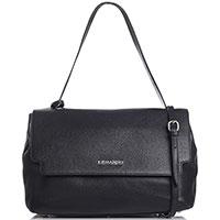 Черная сумка Ermanno Ermanno Scervino Fabiana со съемным ремнем, фото
