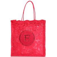 Сумка-шоппер Ermanno Ermanno Scervino Fatin красного цвета, фото