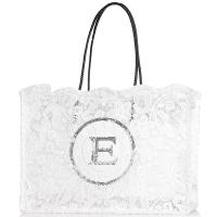 Сумка-шоппер Ermanno Ermanno Scervino Fatin белого цвета, фото