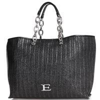 Сумка-шоппер Ermanno Ermanno Scervino Gloria черного цвета, фото