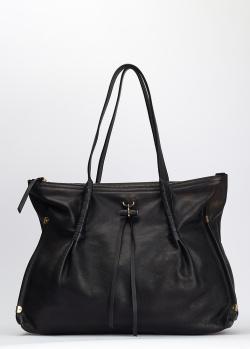 Черная сумка Nina Ricci с декором, фото