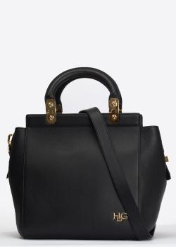 Сумка-тоут Givenchy HDG из черной кожи, фото