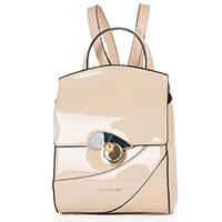 Рюкзак Cromia Koa из бежевой лаковой кожи, фото