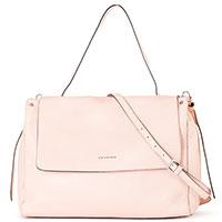 Розовая сумка Cromia Go Far на тонком ремне, фото