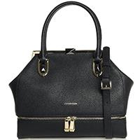 Черная сумка Cromia Mina с рамочным замком, фото