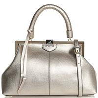 Золотистая сумка Cromia Daisy Daisy в ретро-стиле, фото