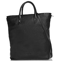 Черная сумка-шоппер Cromia Aspen со съемным ремнем, фото