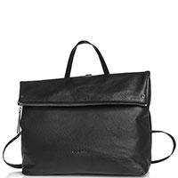 Сумка-рюкзак Cromia Aspen из черной кожи, фото