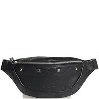 Женская поясная сумка Cromia Aspen из текстурной кожи, фото