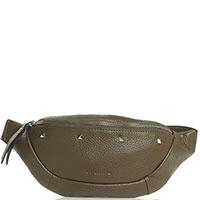 Поясная сумка Cromia Aspen оливкового цвета, фото